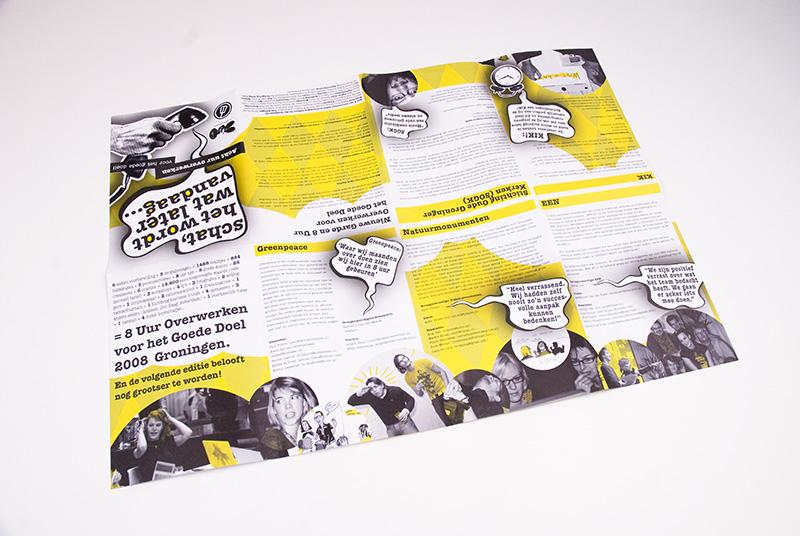 Nieuwe Garde Acht Uur Overwerken Poster