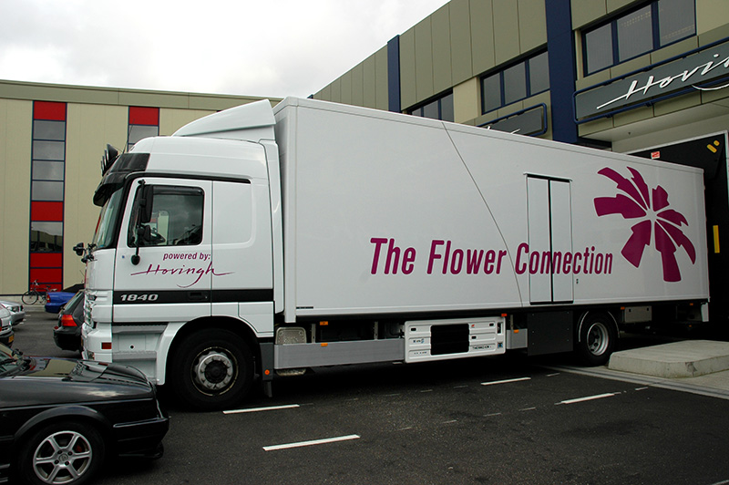 The Flower Connection identity