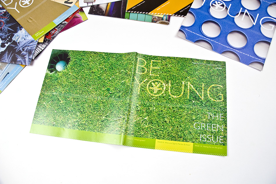 Young TNT Be Young Magazine