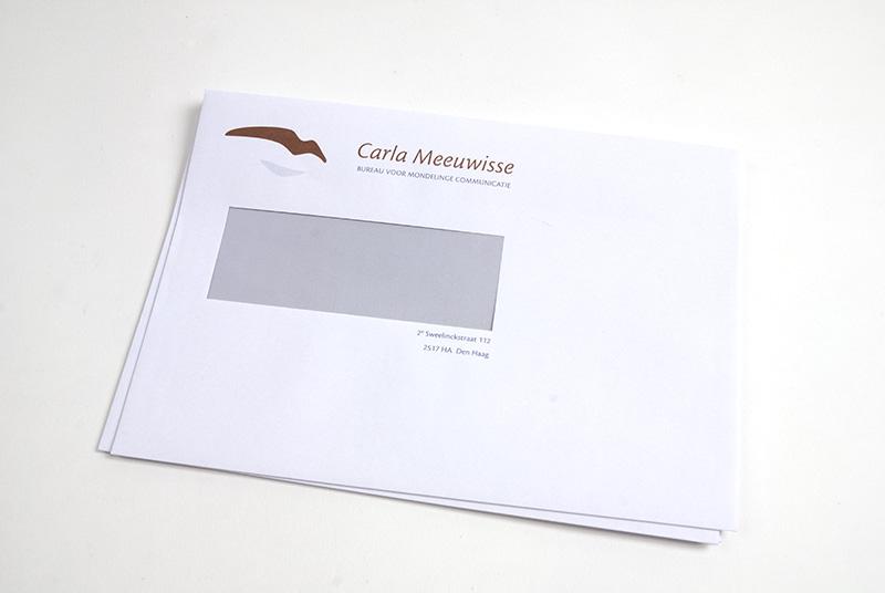Carla Meeuwisse identiteit enveloppe