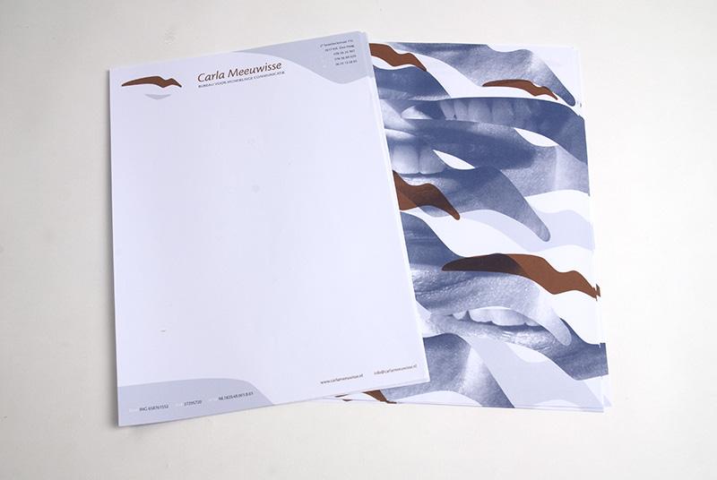 Carla Meeuwisse identiteit briefpapier