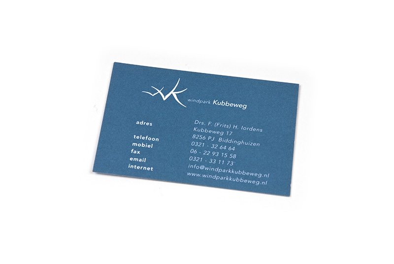 Windpark Kubbeweg Businesscard